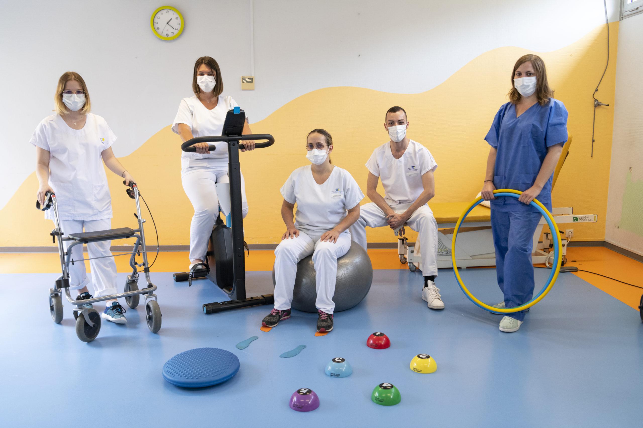 équipe de soignants